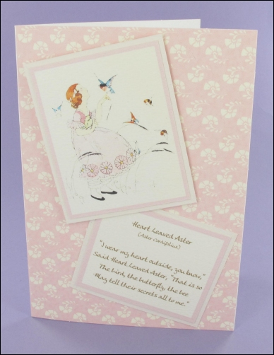 Project - WFC Heart Leaved Aster card