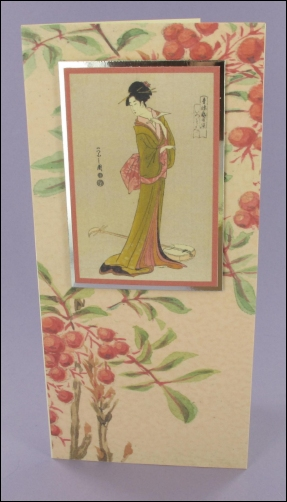 Project - Elegant Geisha card