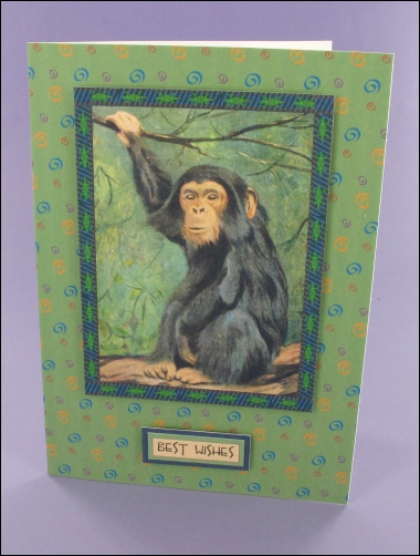 Project - Chimpanzee card