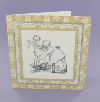 Project - Picking Irises card