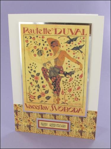 Project - Paulette Duval card
