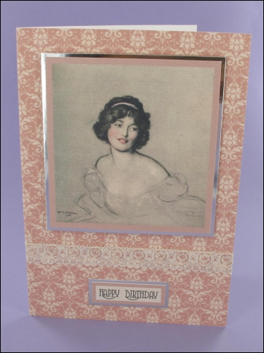 Project - Betty motif card