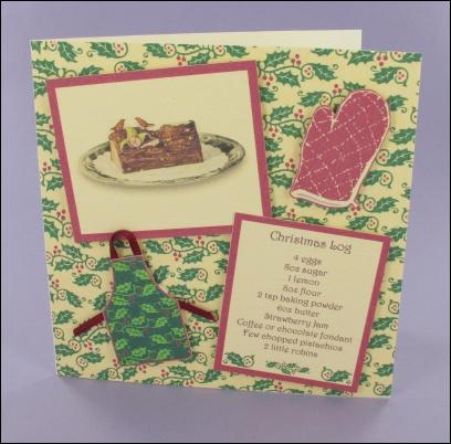 Project - Christmas Log card