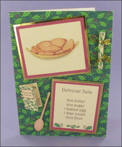 Project - Petticoat Tails Shortbread card