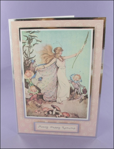 Project - Queen of the Fairies card
