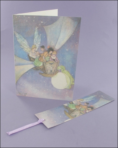 Project - The Cradle Ship Notecard & Bookmark