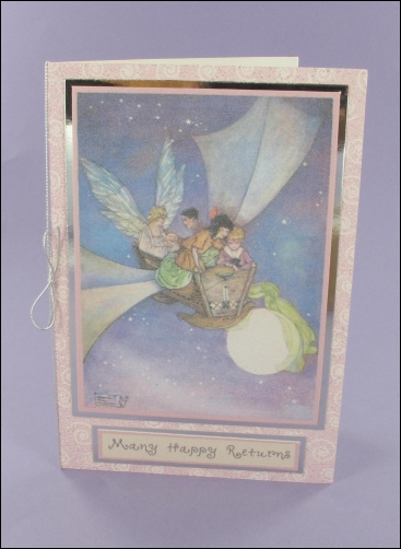 Project - The Cradle Ship Sparkly Birthday card