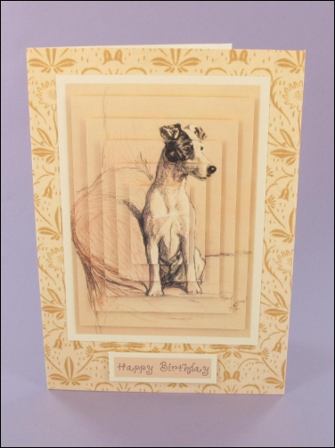 Project - Terrier Large Pyramage card