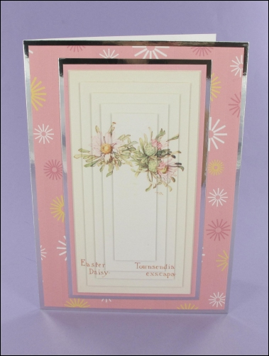 Project - Easter Daisy Large Pyramage Card