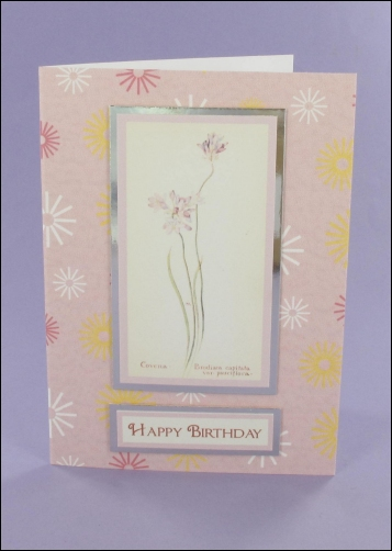 Project - Covena A6 Birthday Card