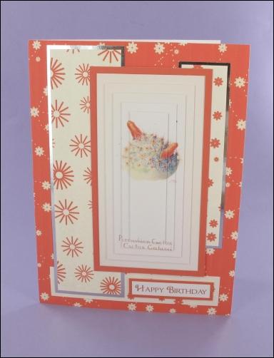 Project - Pincushion Cactus Large Pyramage Card