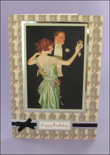 Project - The Dancing Couple card