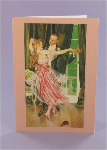 Project - Palmolive Dancing Notecard