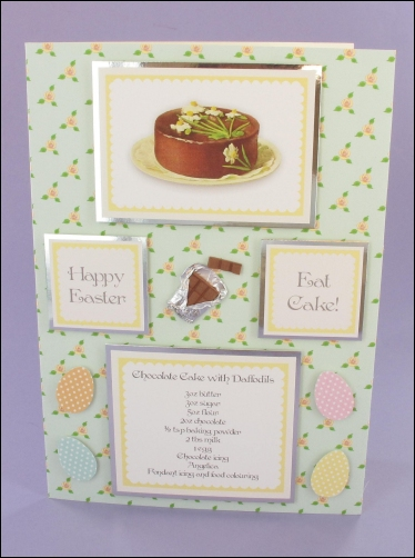 Project - Easter Daffodil Cake card
