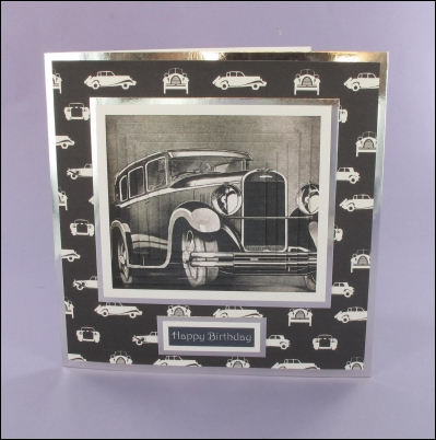 Project - Chenard & Walcker Vintage Car card