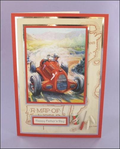 Project - No. 7 Racing Car card