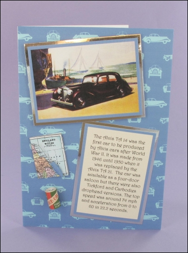 Project - Alvis 14 card
