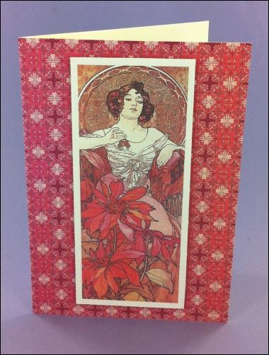 Project - Le Rubis Art Nouveau card