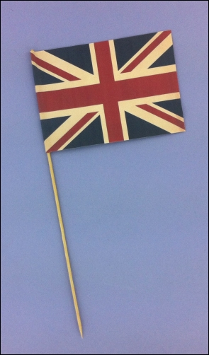 Project - Vintage Street Party A6 Flag