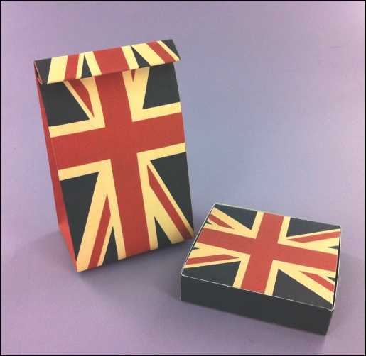 Project - Vintage Street Party Gift Box & Bag