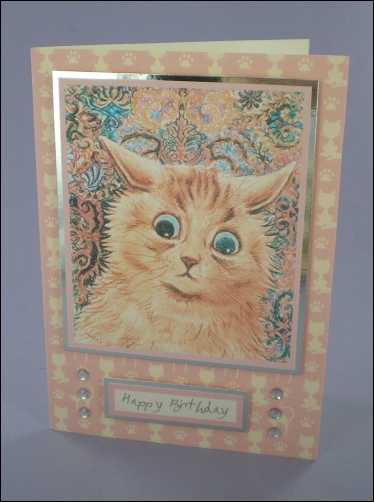 Project - Cat-atonic birthday card