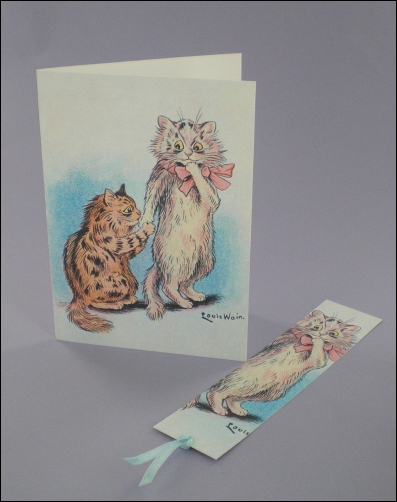 Project - In-Cat-uation Notecard & Bookmark