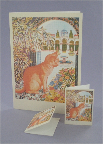 Project - Purr-gola Cat Notecard & Tags
