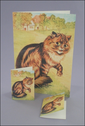 Project - Purr-fectly Happy Notecard & Tags