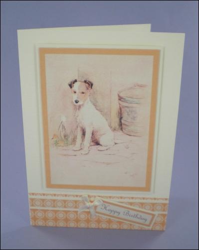 Project - Cecil Aldin Fox Terrier card