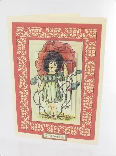 Project - Poppy Girl card