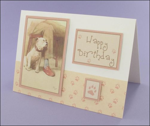 Project - Puppy Love card