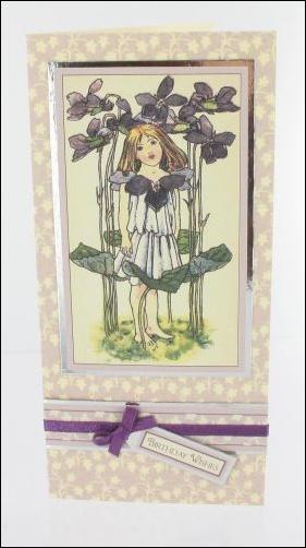 Project - Violet Girl card
